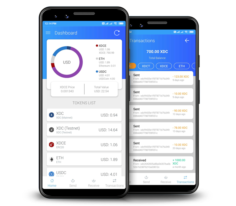 XDC Android Wallet