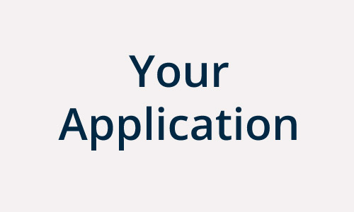 List your Application